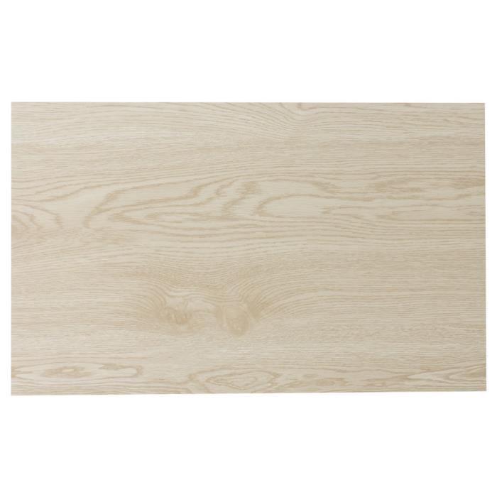 SET TABLE PVC 45 X 30 CM BOIS CLAIR (LOT DE 2) NEURE NEUTRE