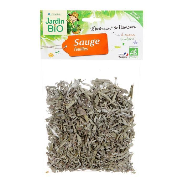 JARDIN BIO Sauge feuilles bio - 30 g