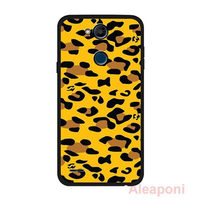 COQUE - BUMPER Coque pour LG X Power3 Smartphone Orange silicone