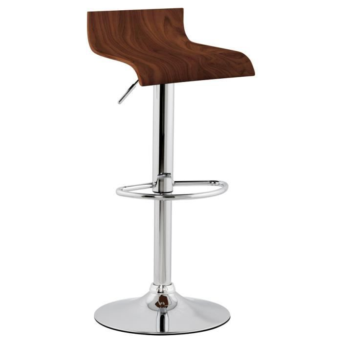 tabouret de bar 39 amazonia 39 achat vente tabouret de bar cdiscount. Black Bedroom Furniture Sets. Home Design Ideas