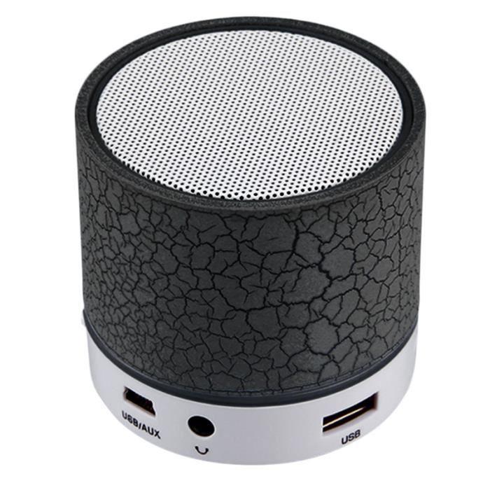 ENCEINTE NOMADE 2016 sans fil Bluetooth Mini haut-parleur A9 LED s