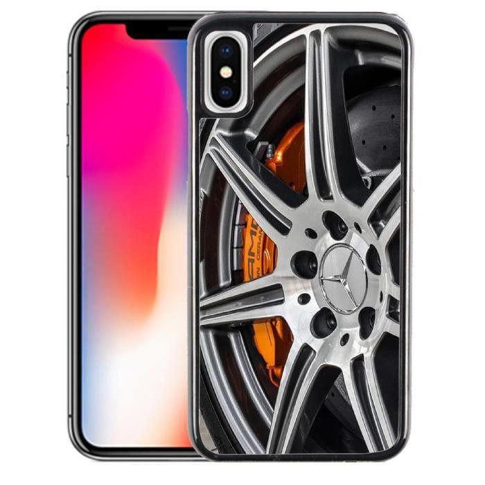 Coque iPhone X Jante Mercedes AMG