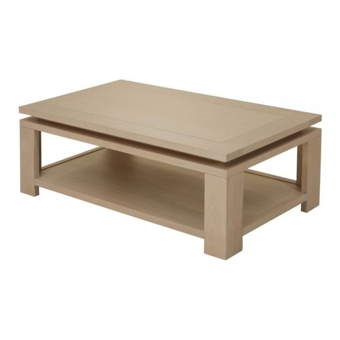 Table Basse Double Plateau Maison Design