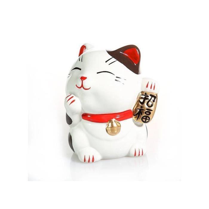 Tirelire chat japon