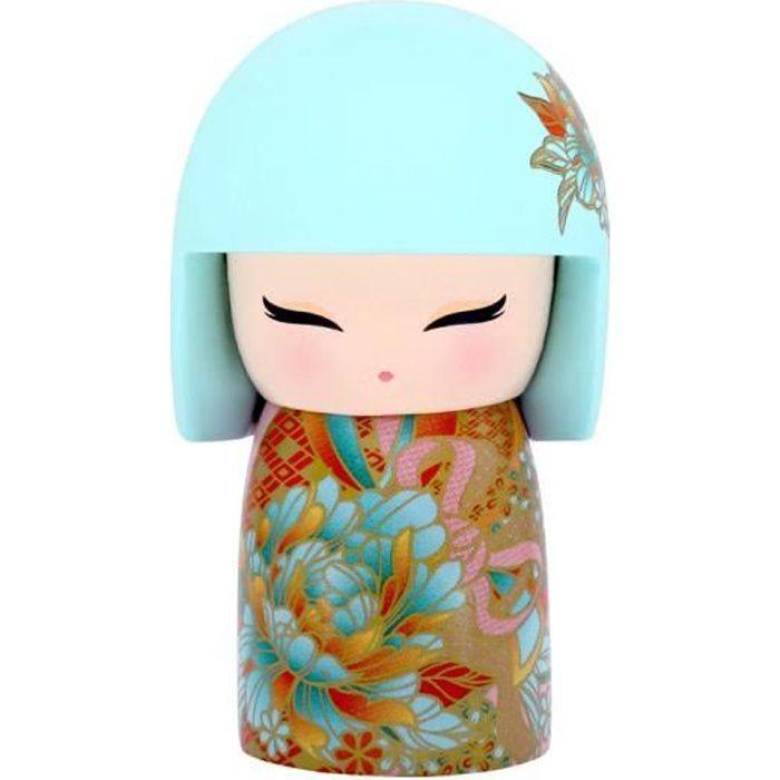 Kimmidoll Porte cl/é Kokeshi 5cm Akiko Enlightenment Version Anglaise