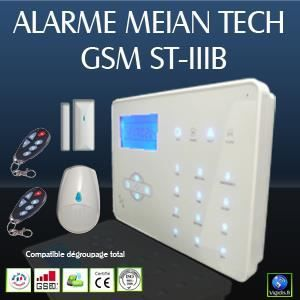 Nouvelle alarme gsm sans fil st iiib achat vente kit for Alarme maison securite good deal