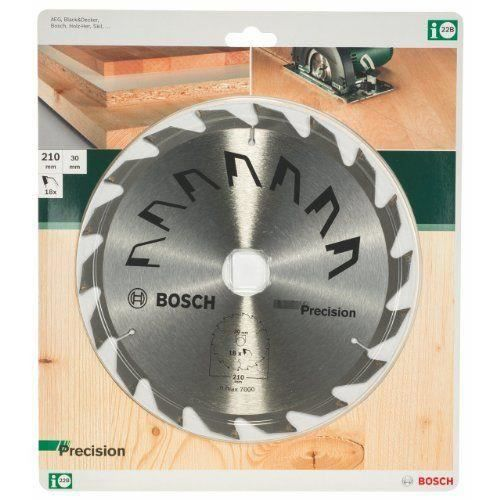 bosch 2609256871 pr cision lame de scie circulaire 18 dents carbure diam tre 210 mm al sage. Black Bedroom Furniture Sets. Home Design Ideas