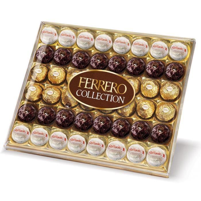 Ferrero Collection Assortiment X48 518g Achat Vente Chocolat