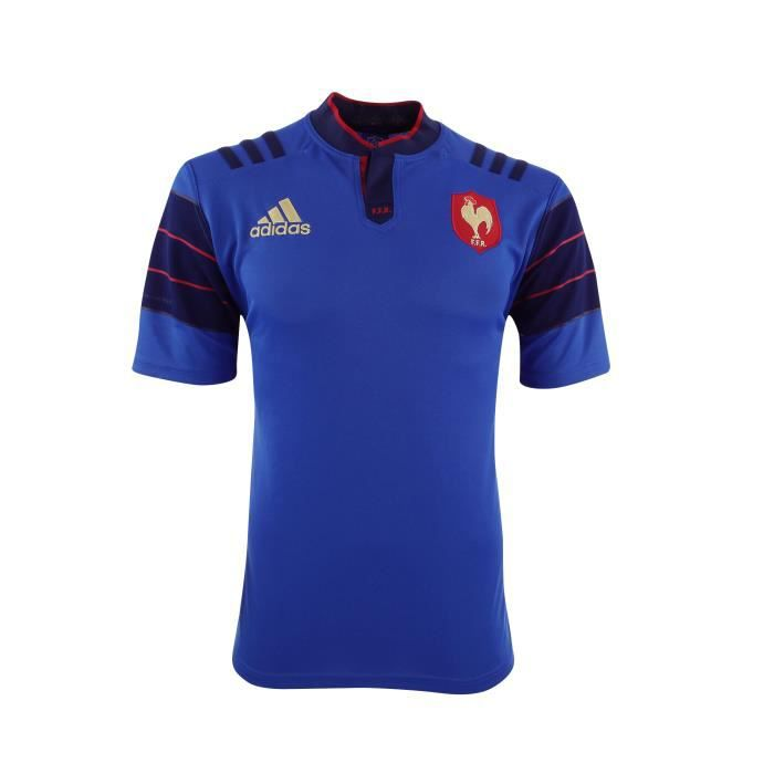 Maillot ffr france rugby domicile 2015 2016 multicouleur for Maillot exterieur xv de france