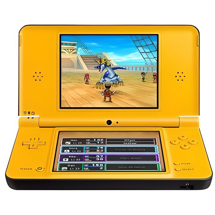 nintendo dsi xl console de jeu portable jaune achat vente console ds lite dsi. Black Bedroom Furniture Sets. Home Design Ideas