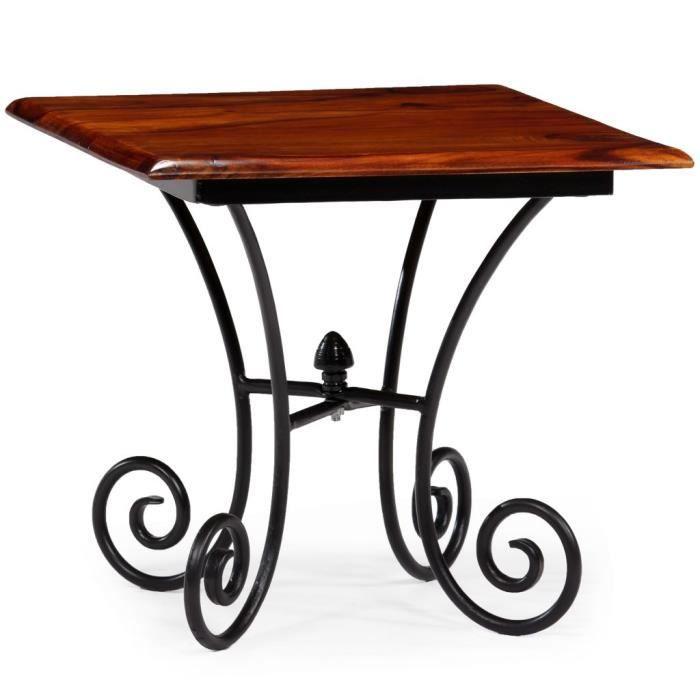 Table Basse Scandinave Avec Pieds Ondules Bois De Sesham Salon 42
