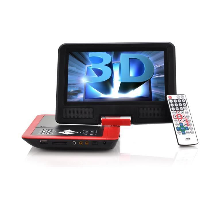 lecteur dvd portable 8 7 pouces lcd jeux la lecteur. Black Bedroom Furniture Sets. Home Design Ideas