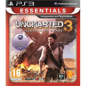JEU PS3 Uncharted 3 Essential Jeu PS3