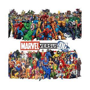 COMICS Super-War. Marvel versus DC Comics