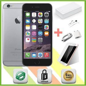 SMARTPHONE iPhone 6 Gris Sidéral 16 gb Noir Apple smartphone