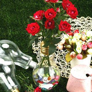 VASE - SOLIFLORE Forme clair Ampoule stand usine Vase de fleurs hyd