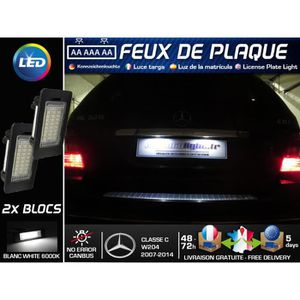 Modules LED plaque immatriculation - Mercedes Classe C W204
