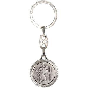 PORTE-CLÉS Porte clé métal diamanté saint Christophe - 23024