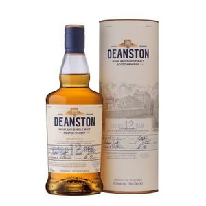WHISKY BOURBON SCOTCH Whisky Deanston 12 ans single malt desHighlands