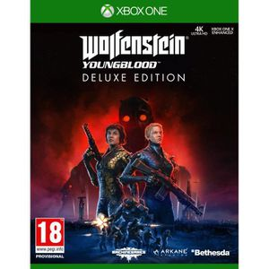 JEU XBOX ONE Wolfenstein : YoungBlood Deluxe Edition Jeu Xbox O