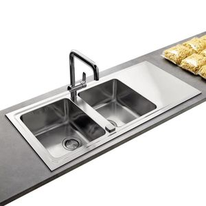 evier inox 2 bacs - achat / vente evier inox 2 bacs pas cher