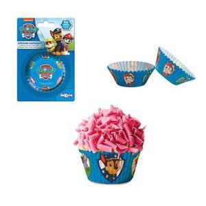 CAISSETTE - MOULE Lot 50 caissettes Cupcakes Pat Patrouille Garcon -