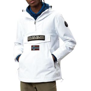 ontmoeten replica's beste goedkoop Veste Napapijri Rainforest Summer Pocket Blanc