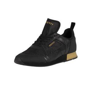 BASKET Cruyff  Baskets en cuir Lusso, Noir, Homme