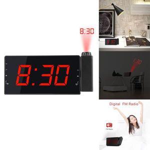 Radio réveil Réveil projecteur numérique Projection Horloge FM