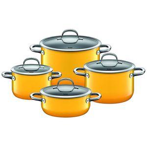 POÊLE - SAUTEUSE Silit Pot-Set 4 pièces. Passion Jaune 2109298175