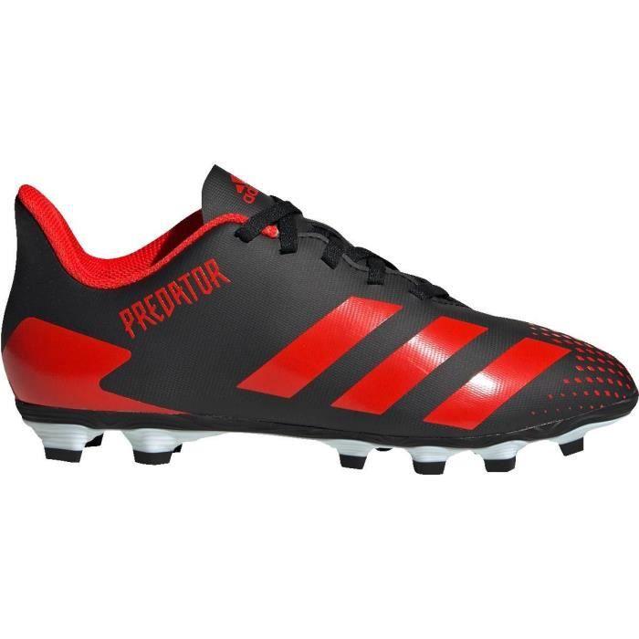 ADIDAS Chaussures de Football terrain sec Predator 20.4 FxG - Enfant - Noir