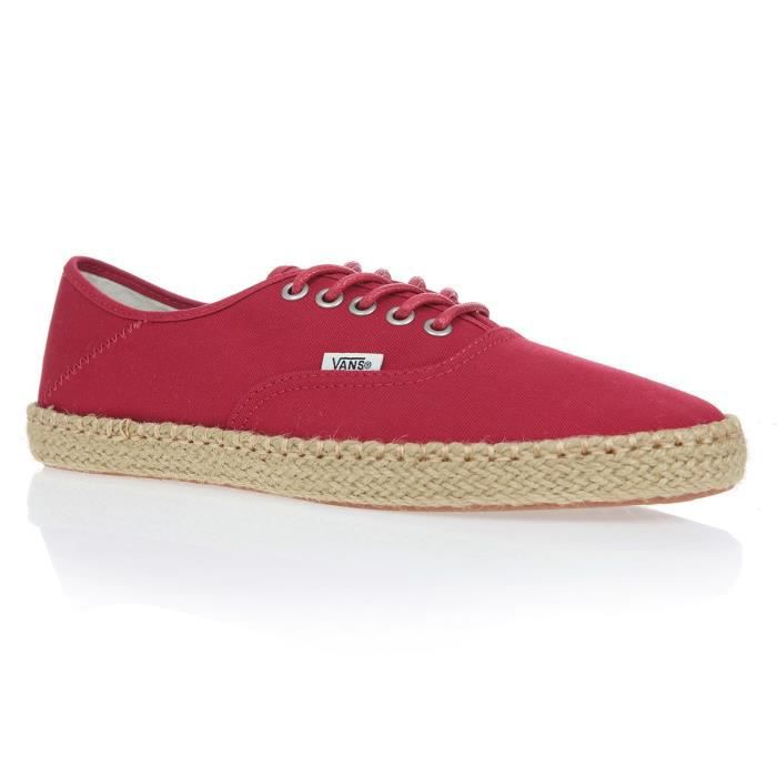 VANS Chaussures Authentic Esp Rouge Chili Pepper Femme