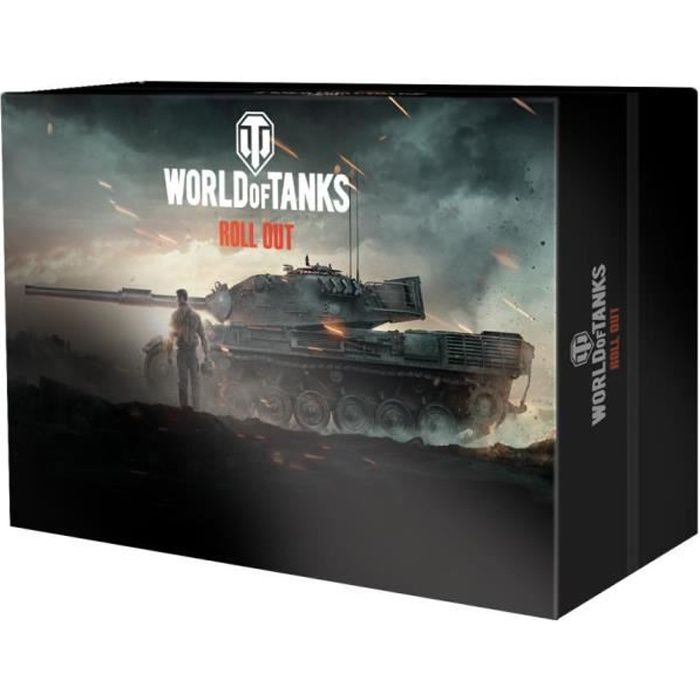 Coffret Édition Collector World of Tanks pour PS4-Xbox One-PC