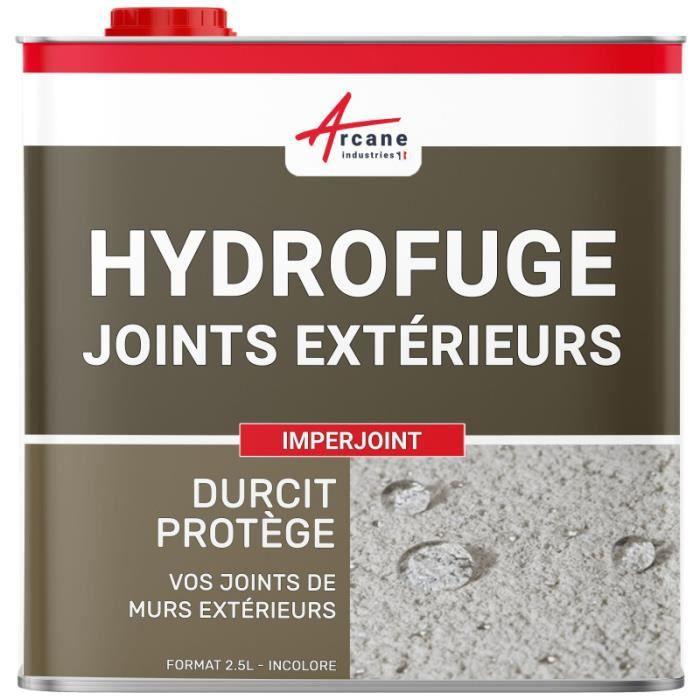 Joint farinant et friable durcisseur hydrofuge imperméabilisant IMPERJOINT - Liquide- Transparent - 2.5L (jusqu a 12.5m²)