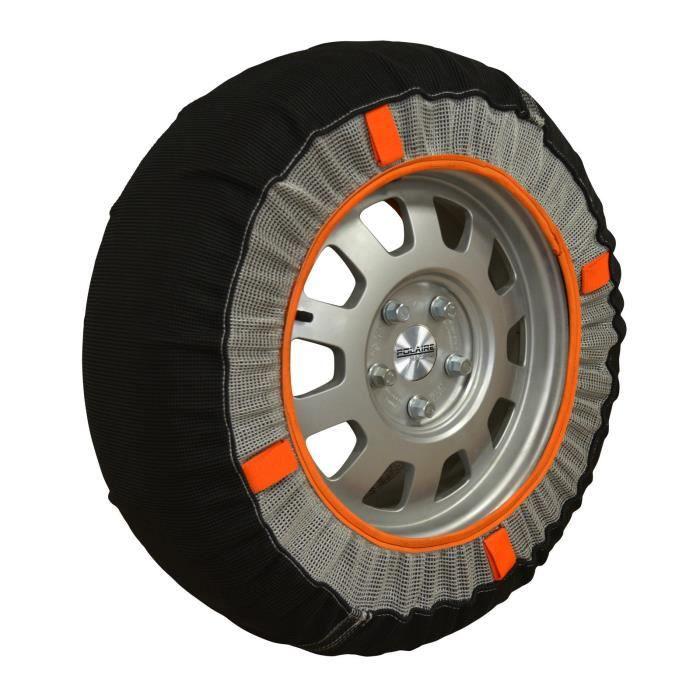 Chaussettes neige textile pneus 255-40R16