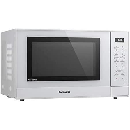 Panasonic Four Micro-Ondes solo NN-ST45KWEPG 32 Litres, Technologie Inverter, Puissance Micro-Ondes 1000 W, Plateau tournant 34 cm,