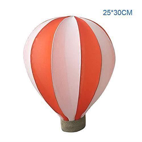 MTF coloré montgolfière Décoration Mariage Shop Mall A um Décoration à Suspendre Décoration de fête d'anniversaire, Orange, 25