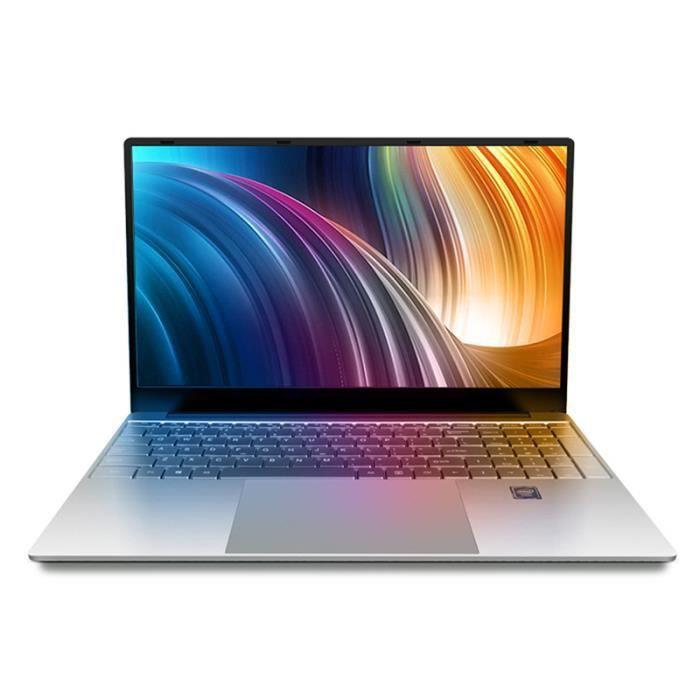 Ordinateur Portable Pc 15.6 pouces Gaming Laptop 8Go Ram 128Go Rom Intel Core i3 5005U Chargeur Us + Adaptateur Eu
