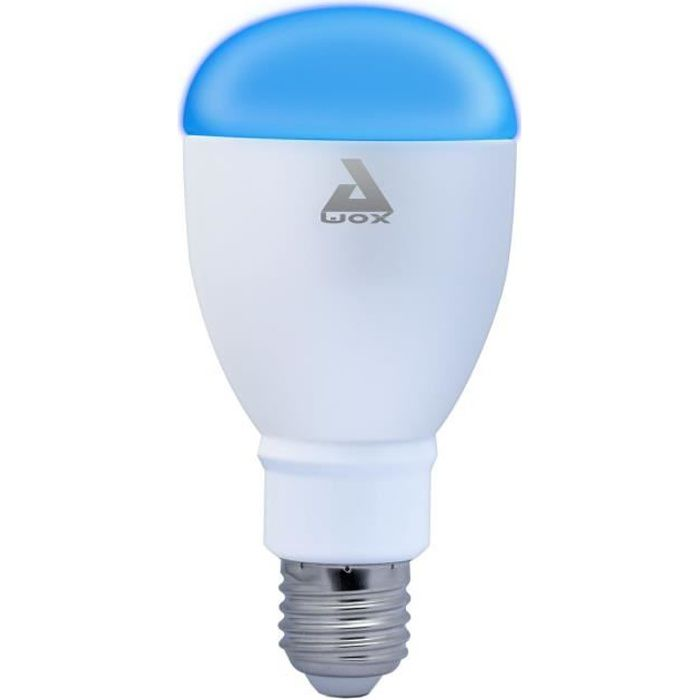 AWOX SmartLIGHT Ampoule LED E27 couleur connectée Bluetooth 60 W