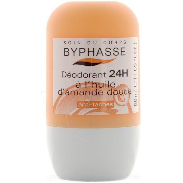 Byphasse - Déodorant 24h à l'huile d'amande douce roll-on - 50ml