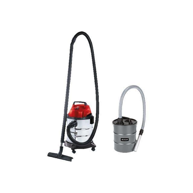 EINHELL Aspirateur eau et poussière cuve 20L 1250W - fonction soufflerie - TH-VC 1820S avec bidon vide cendres