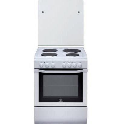 INDESIT-I6E6C1AE(W)/FR - Cuisinière Electrique - 4 Zones - 7000W - Four Multifonctions Catalyse - 59L - A - 60x60cm -Blanc