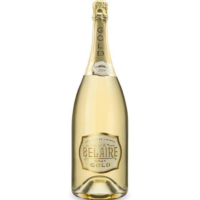 Luc Belaire Gold - Vin effervescent Blanc - Magnum 1,5 L