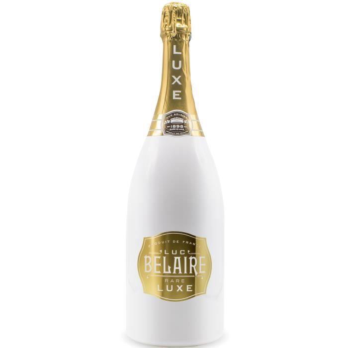 Luc Belaire Luxe - Vin effervescent Blanc - Magnum 1,5 L