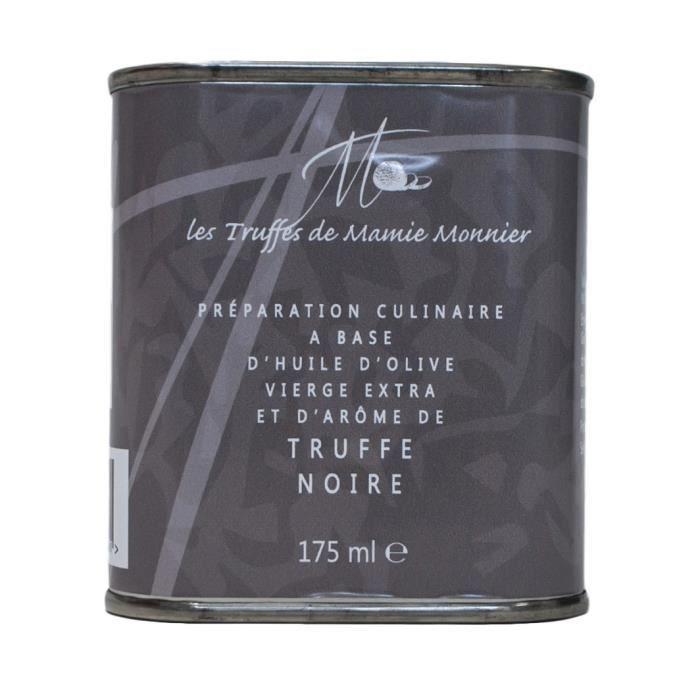 LES TRUFFÉS DE MAMIE MONNIER Bidon d'huile d'olive extra-vierge à la truffe noire - 175 ml