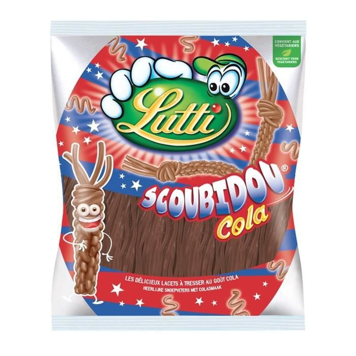 LUTTI Bonbons Scoubidou Cola - 200 g