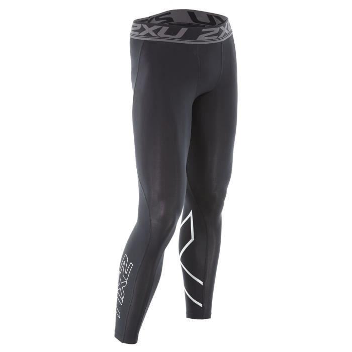 Shorts de course 2XU Compression Hommes Accelerate Collants Noir - MA4476b-0008