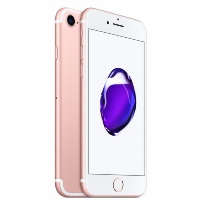 apple iphone 7 32gb reconditionn a neuf rose gold achat. Black Bedroom Furniture Sets. Home Design Ideas