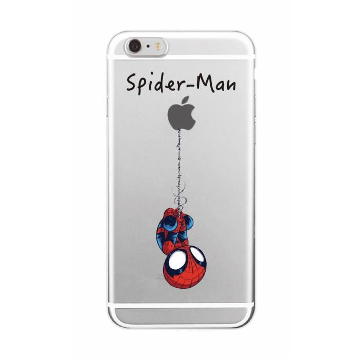 coque iphone 6 spiderman