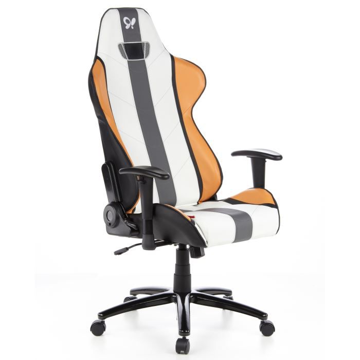 si ge de bureau hockenheim assise sport puora achat vente chaise de bureau orange cdiscount. Black Bedroom Furniture Sets. Home Design Ideas